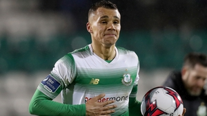 Graham Burke's penalty was enough for Shamrock Rovers