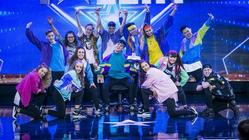 FKFT through to Ireland's Got Talent final