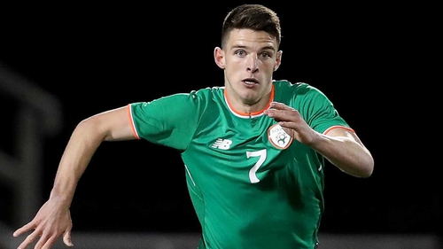 Declan Rice made his Ireland debut against Turkey earlier this year
