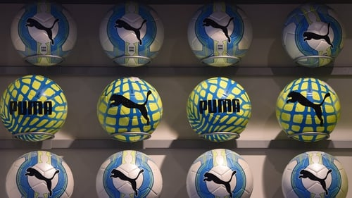 Puma said its first quarter sales came in at €1.549 billion, while net profit jumped to €109m