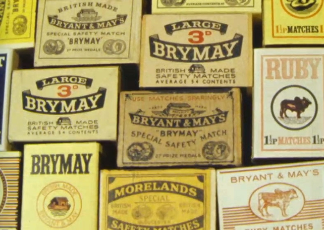 Maguire & Paterson - Brymay Matchboxes