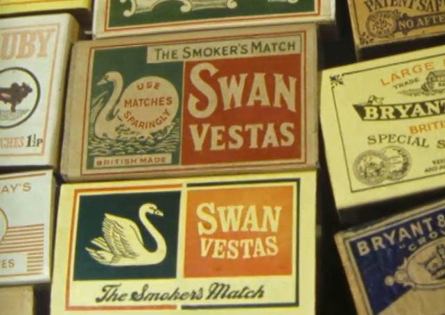 Maguire & Paterson - Swan Vestas Matchboxes