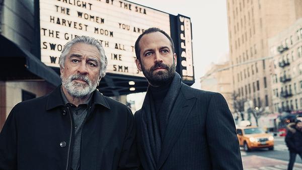 Actor Robert De Niro and dancer Benjamin Millepied in Ermenegildo Zegna's Fall 2017 campaign. Photo: Ermenegildo Zegna
