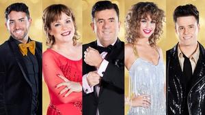 Hughie Maughan, Teresa Mannion, Des Cahill, Thalia Heffernan and Dayl Cronin