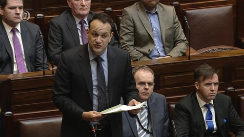 Leo Varadkar said the remit of the SCU is to treat communications as a whole-of-Government activity