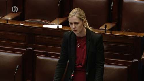 Lisa Chambers apologised in the Dáil for 'voting incorrectly'