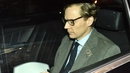 Chief Executive of Cambridge Analytica Alexander Nix leaving its offices in central London