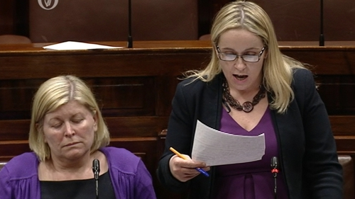 Carol Nolan (R) voted in the Dáil against holding the referendum on the Eighth Amendment