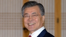 """President Moon said the series of summits should aim for a """"complete end"""" to the nuclear threat on the Korean peninsula"""