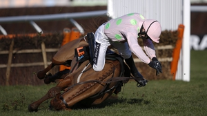 Ruby Walsh was hurt in a fall at Cheltenham