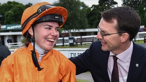 Ana O'Brien's presence at Doncaster was the big result of the weekend for him