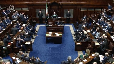 Dara céim den bhille a cheadódh reifreann rite sa Dáil