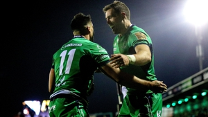 Cian Kelleher, left,and Craig Ronaldson have signed new deals at the Sportsground