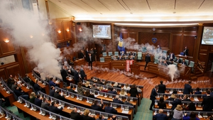 The opposition party Vetevendosje is opposed to the agreement with Montenegro, signed in 2015