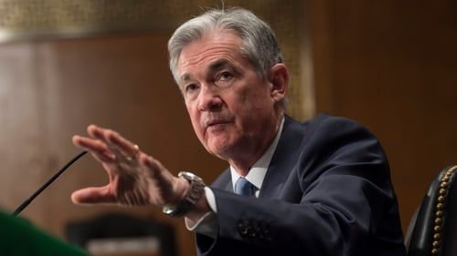 Fed Chairman Jerome Powell said today 'it is difficult to predict the ultimate outcome of current discussions over trade policy'