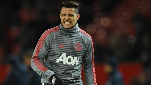 Alexis Sanchez has scored one goal in 10 appearances since moving to Old Trafford