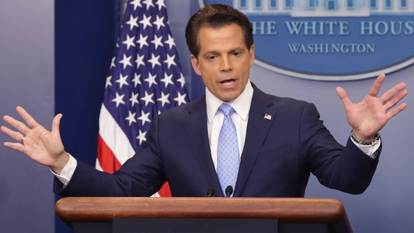 Anthony Scaramucci's time as communications director in the White House was cut short after he was fired