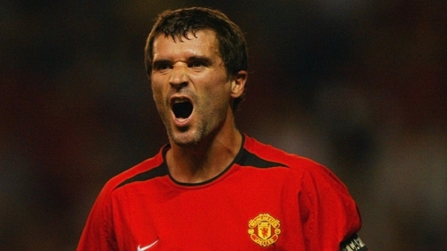 Roy Keane let his feelings be known to the Spanish youngster