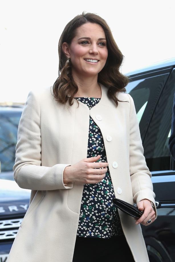 Catherine, Duchess of Cambridge visit SportsAid t