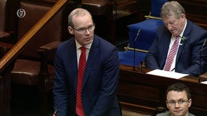 Simon Coveney acknowledged there had not been as much progress on Brexit as expected