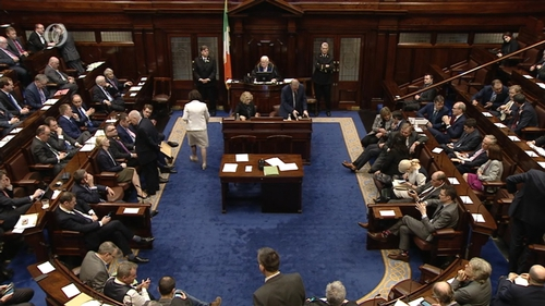 A busy Dáil for the recent debate and vote on the Strategic Communications Unit