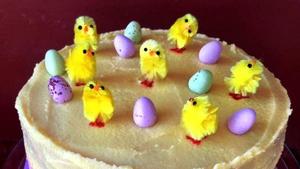 Catherine Fulvio's Easter Surprise Cake