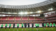 The Republic of Ireland train in Antalya ahead of Friday's friendly against Turkey