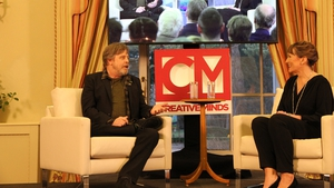 Mark Hamill talks to Aedín Gormley at The American Ambassador's Residence