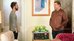 Corrie fans delighted to see Martin Platt back on the soap after 13 years