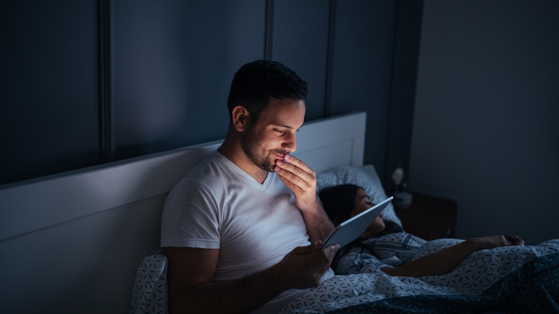 Over 90 Percent Of Individuals Use Some Type Lighting Device In The Hour Before