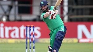 Opener Paul Stirling got off to a flyer, hitting 51 runs in 29 balls