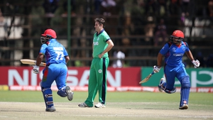 Afghanistan booked their place in the World Cup with a convincing win over Ireland