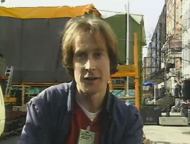 Ian Wilson Producer at the Dublin Millennium Beat on the Street (1988)