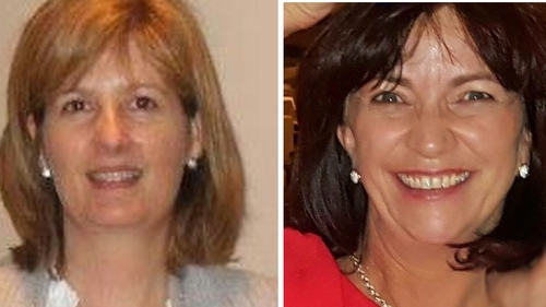 Deirdre Kilmartin and Maureen Dooley were out walking when they were struck by a car and died