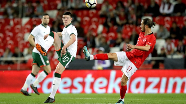 Declan Rice enjoyed a dream debut for Ireland