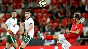 Declan Rice impressed on his senior international bow, switching from centre-half to midfield without any issues