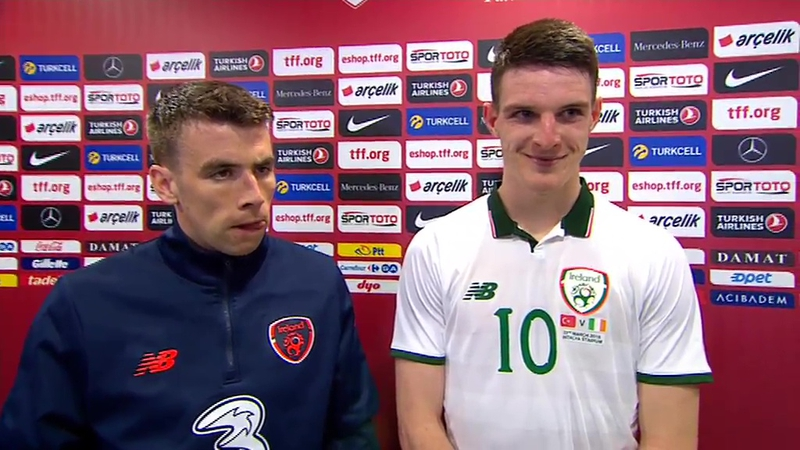 Coleman hails man of the match Declan Rice