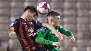 Dinny Corcoran was the late match-winner for Bohemians