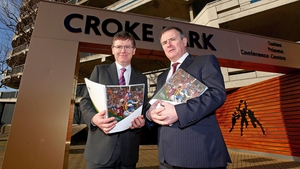 New GAA director general Tom Ryan (left) alongside Croke Park stadium director Peter McKenna