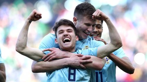 Michael O'Neill predicts bright future for NI goalscorer Paul Smyth