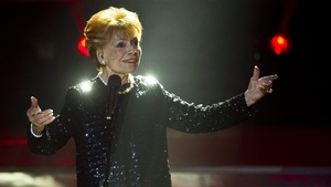 Lys Assia performing in December 2011 at the Swiss finals for the Eurovision Song Contest