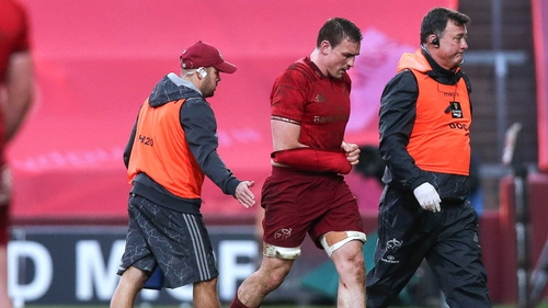 O'Donnell will miss Munster's Champions Cup semi-final against Racing 92