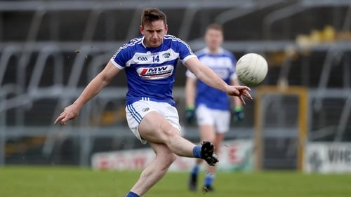 Gary Walsh scored two of the late Laois goals