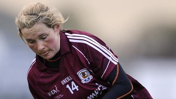 Galway captain Tracey Leonard.