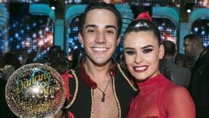 DWTS winners Jake Carterand dance partnerKaren Byrne