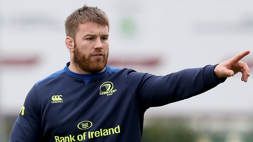 Seán O'Brien has returned to training with Leinster