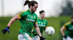 Cillian O'Sullivan will lead the line for Meath again this weekend