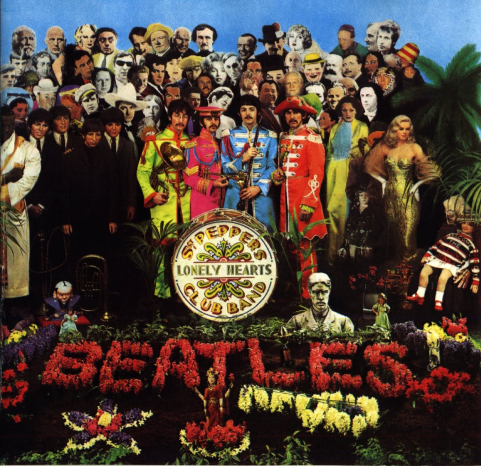 Image - The sleeve to Sergeant Pepper's Lonely Hearts Club Band