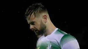 Greg Bolger reacts following the defeat to Waterford United last week