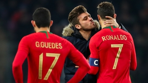 Ronaldo failed to hit the target as Portugal suffered a 3-0 defeat to the Netherlands.